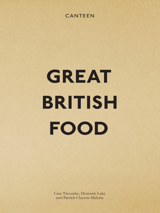 Canteen (eBook): Great British Food